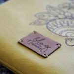 Eine Tablet-Hülle aus Kunstleder