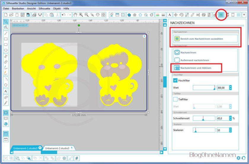 Wie funktioniert Print and Cut - Am Beispiel bedruckbare Bügelfolie2