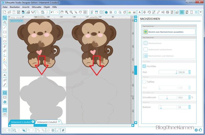 Wie funktioniert Print and Cut - Am Beispiel bedruckbare Bügelfolie3
