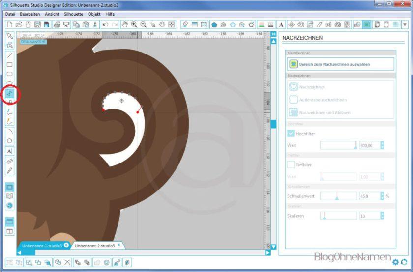 Wie funktioniert Print and Cut - Am Beispiel bedruckbare Bügelfolie4