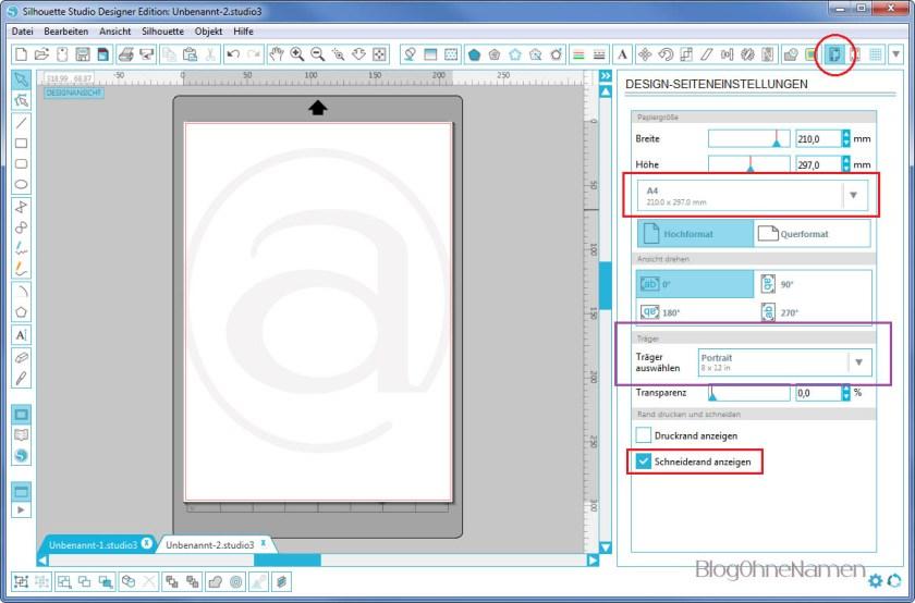 Wie funktioniert Print and Cut - Am Beispiel bedruckbare Bügelfolie7