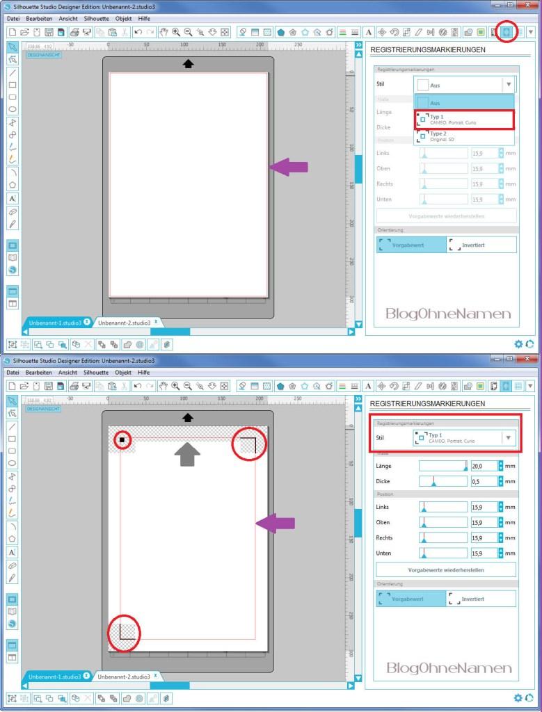 Wie funktioniert Print and Cut - Am Beispiel bedruckbare Bügelfolie8
