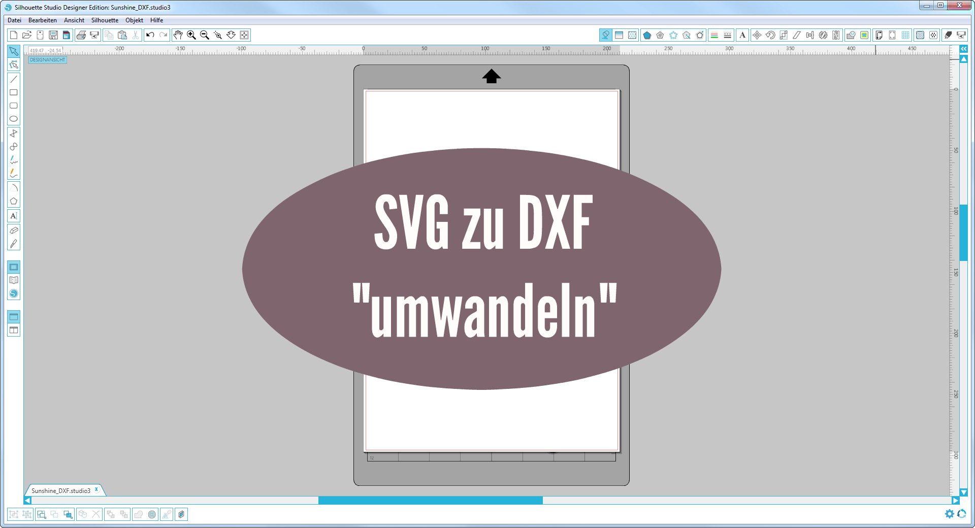 plotter anleitung svg in eine dxf datei f r die silhouette software umwandeln blog ohne namen. Black Bedroom Furniture Sets. Home Design Ideas