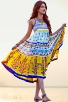 Shruti Hassan ShoppersStop- Multi Colour Tent Dress (1)
