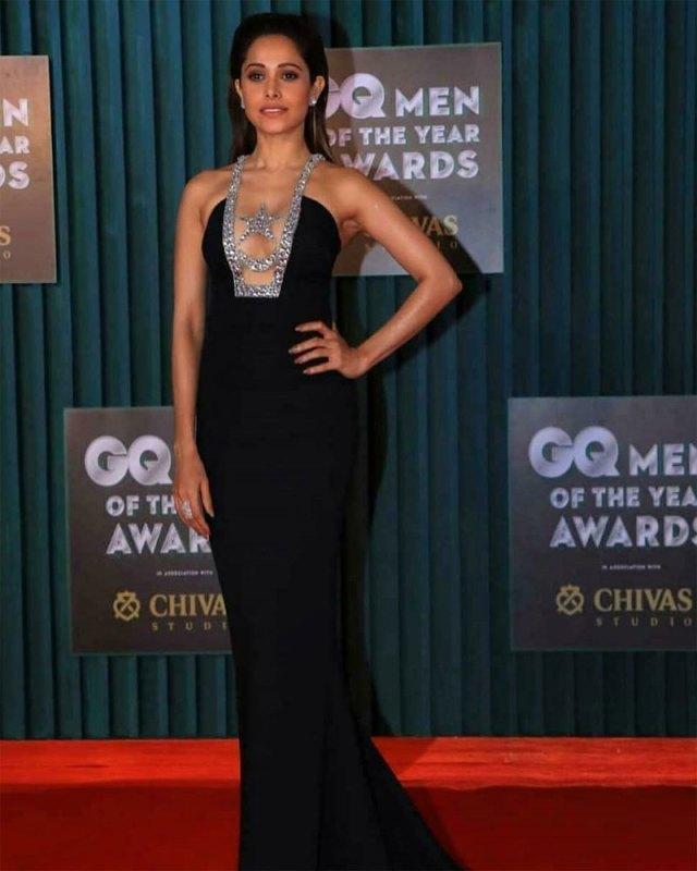 Nushrat Bharucha at GQ Men of the Year Awards 2018