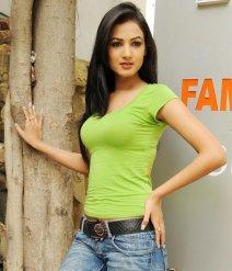 Sonal-Chauhan-Tight-Green-Top-Denim-Jeans (17)