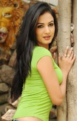 Sonal-Chauhan-Tight-Green-Top-Denim-Jeans (3)