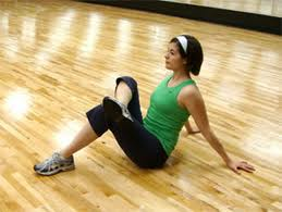 glute stretch - IT band rehab