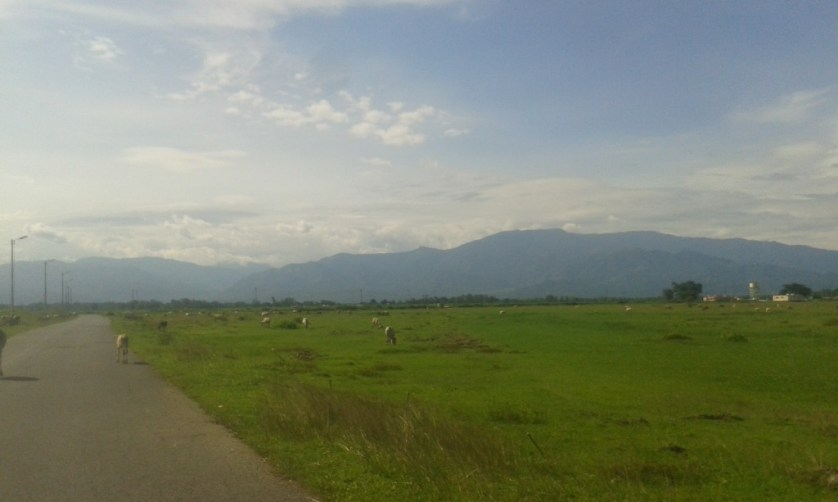 I love this place because of the different views of the same mountain range.