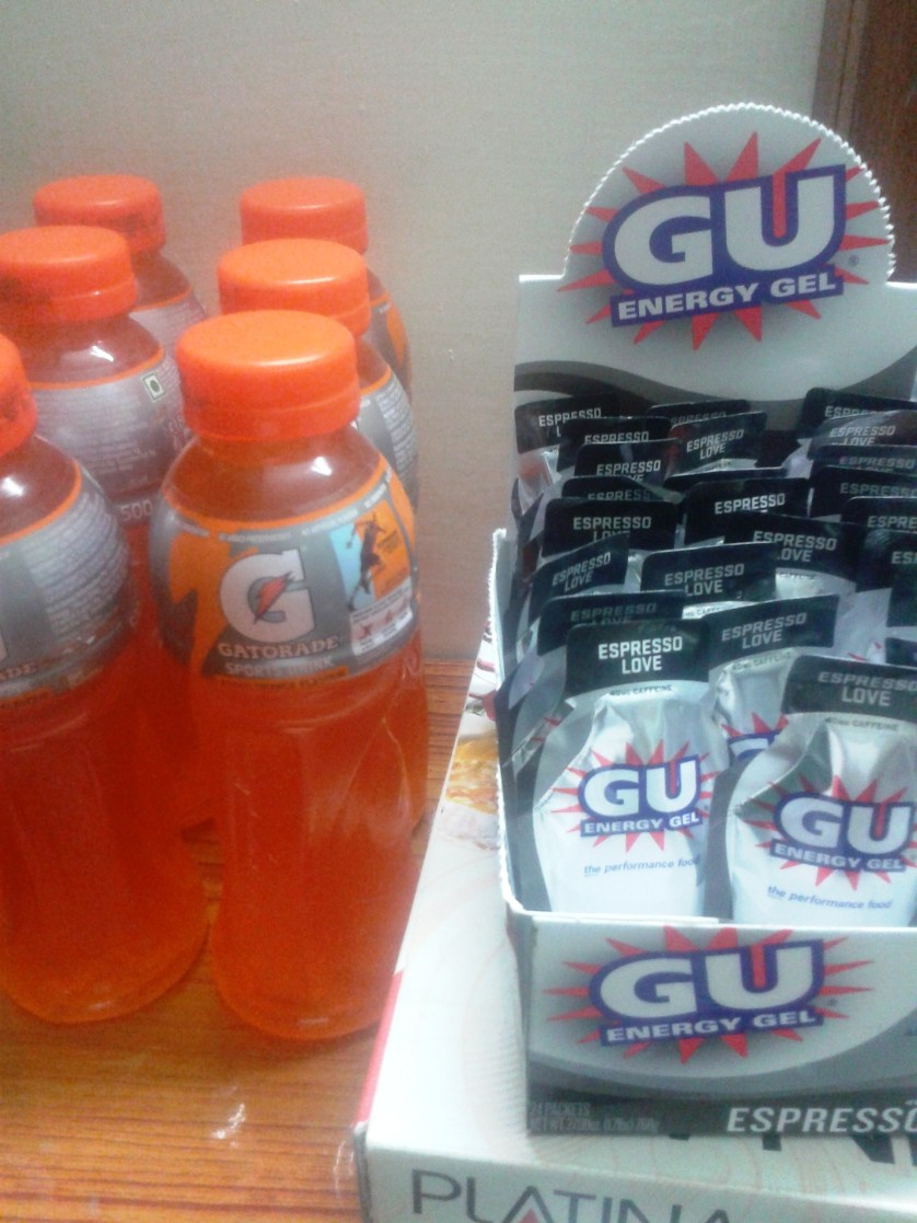 Finally found Gatorade in Siliguri. I do keep my things neatly. A surprise for my wife!