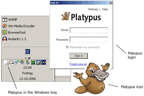 Interface do Platypus