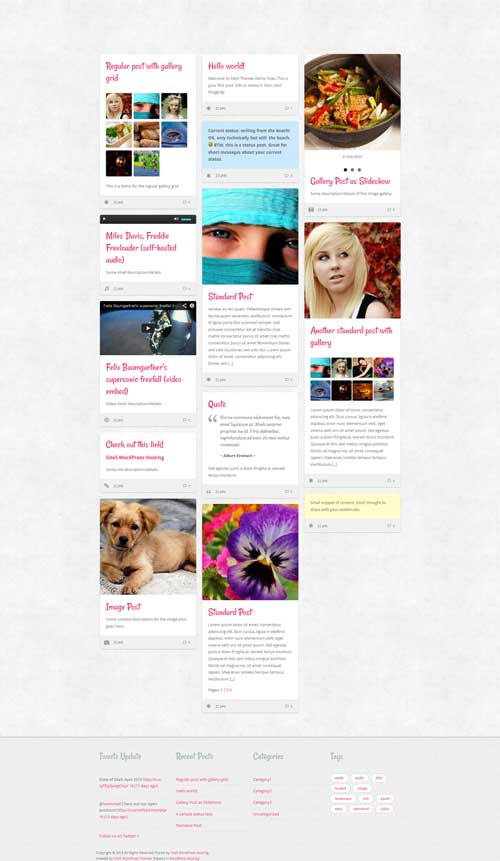 clippy free wordpress portfolio theme