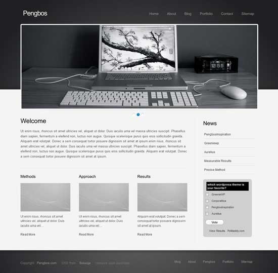 copporatica free wordpress theme