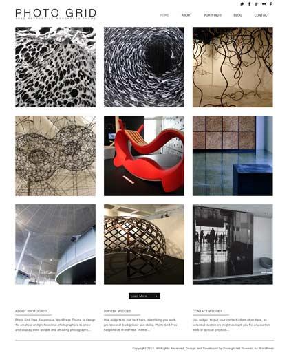 photogrid wordpress theme