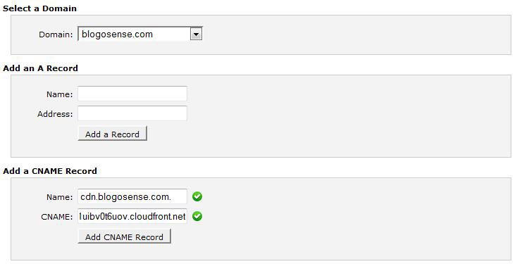 New DNS editor