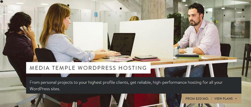MediaTemple Premium Managed WordPress hosting plans 2015