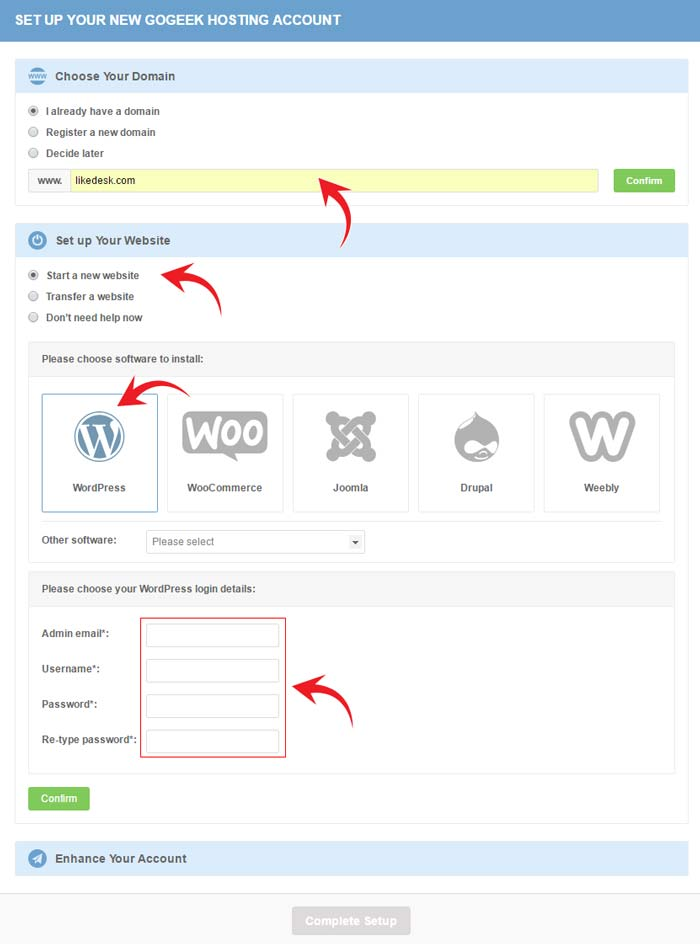 SiteGround WordPress installation review 3
