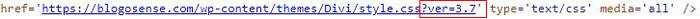 version file