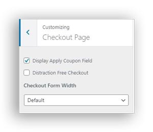 distraction free checkout out in edd