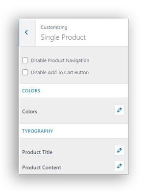 single product page edd