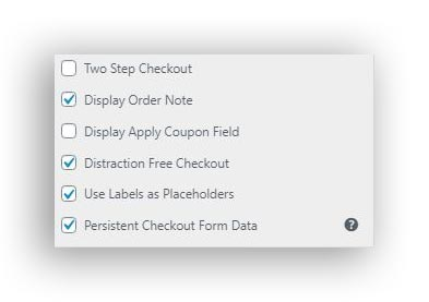 astra enabling distraction free checkout