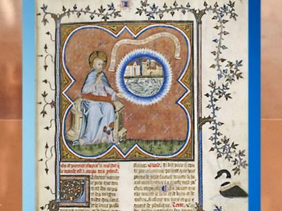 D'après Du ciel et du Monde, Aristote, Nicolaus Oresmius, manuscrit vers 1410 apjc. (Marsailly/Blogostelle.)