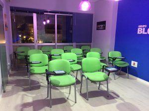 Aula de formación de Grupo Blogosur Comunicación