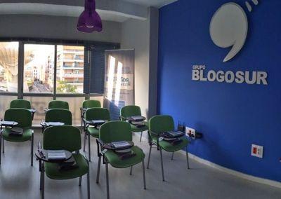 Aula de formación de Blogosur