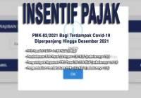 PMK-82/2021 insentif-pajak-terdampak-covid-19-diperpanjang
