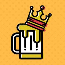 biertje met kroon