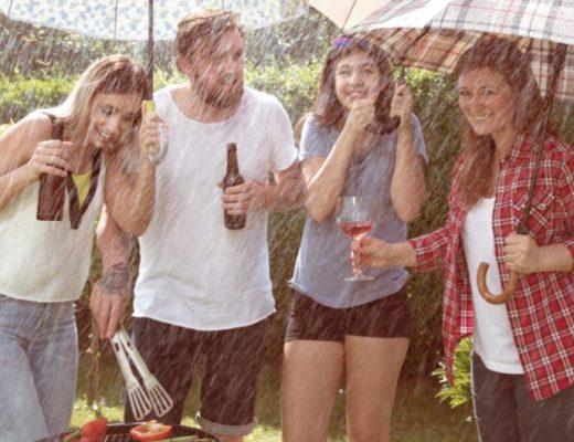tuinfeestje zonder feesttent