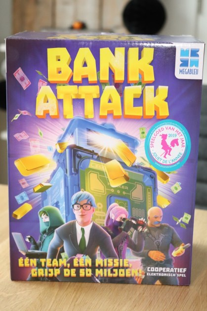 REVIEW coöperatief spel Bank Attack