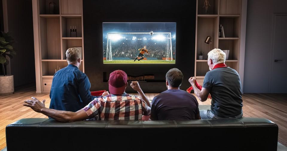 Een avondje sport kijken zonder gedoe!