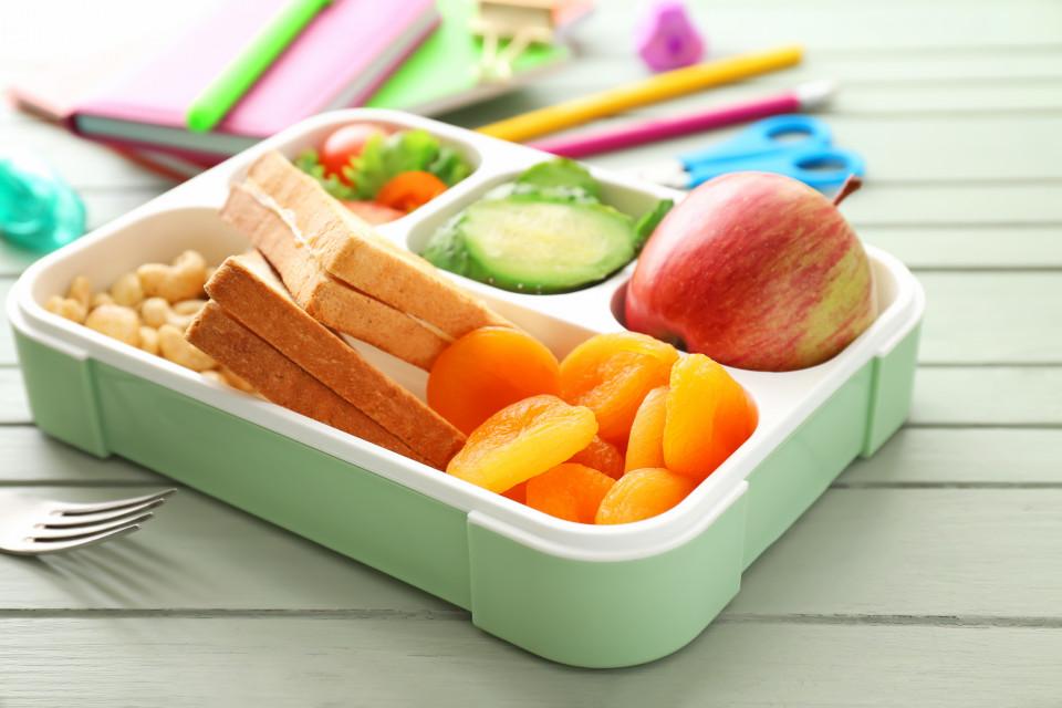 Gezonde snacks voor op school