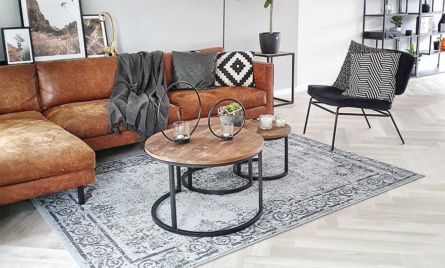 Het doet je denken aan vroeger, oud en tweedehands, maar vintage vloerkleden zijn helemaal van nu! Een tijdloos design, authentiek en nieuw