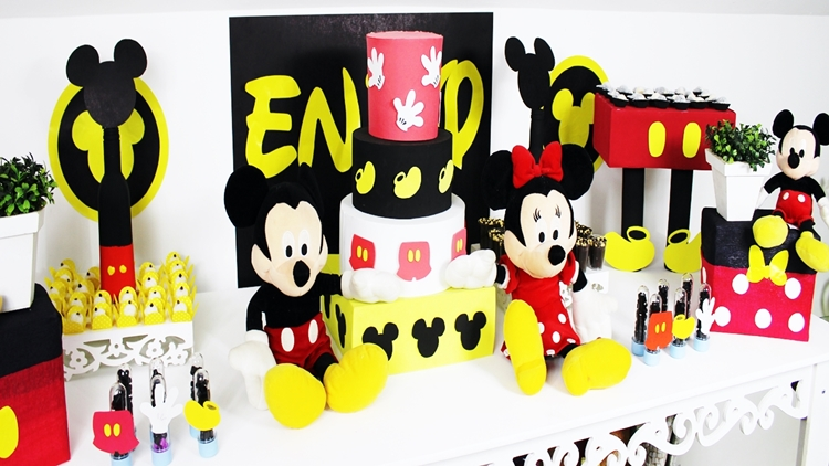 festa do mickey ideias