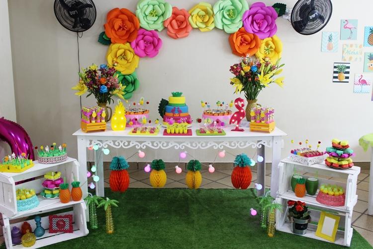 Como Montar Festa Tropical Decoração Tropical