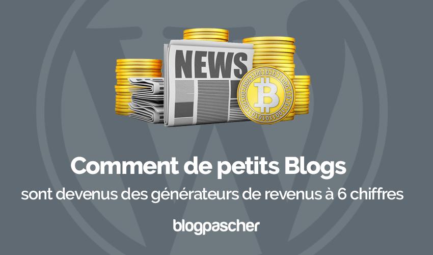 Comment generer revenus blog debutant monetisation