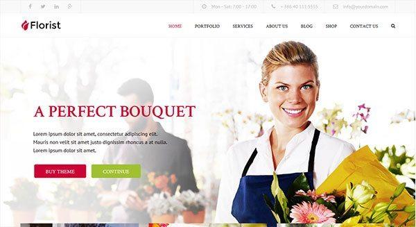 florist-tema-wordpress-membuat-web-site-showcase-toko bunga-pme-tingkat