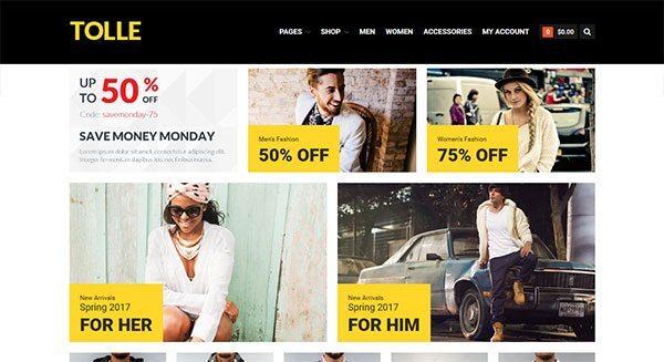 tolle theme wordpress pour creer facilement boutique en ligne tarif