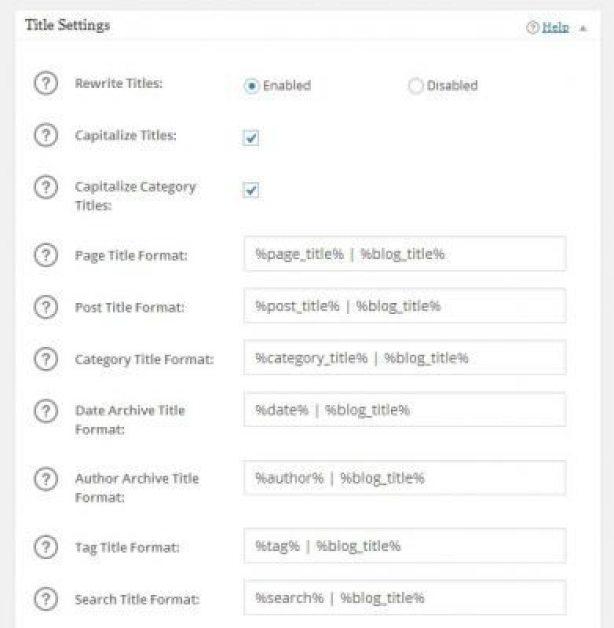 Configure-título-search engine WordPress site