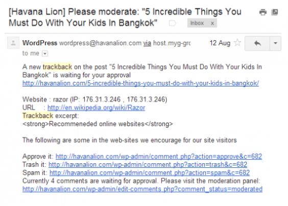 Pingback-Trackback-Example
