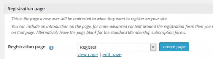 Keanggotaan pendaftaran Plugin-halaman