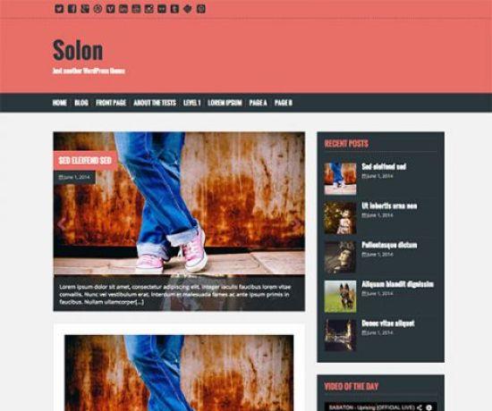 Solon-thème-wordpress-gratuit