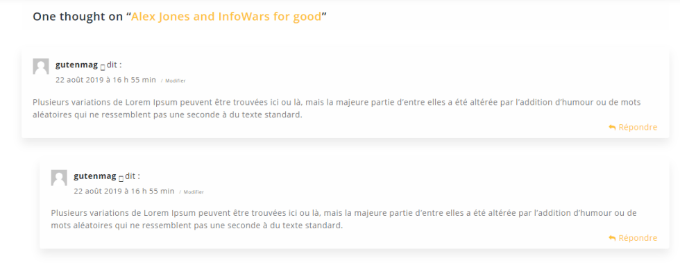Comment deplacer commentaires article vers autre wordpress 4