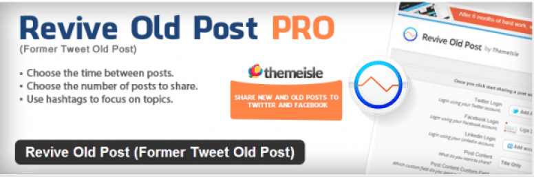 Plugin-wordpress-Revive-Old-Posts-Pro