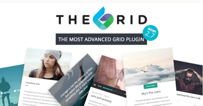 The grid plugin wordpress portfolio