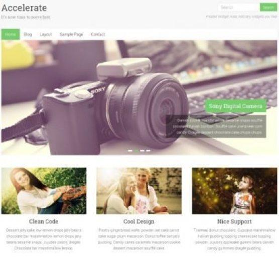 10 temas de WordPress gratis para su página web | BlogPasCher