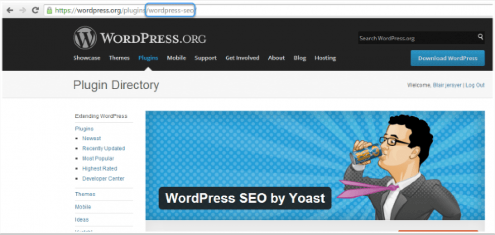 comment-installer-seo-by-yoast