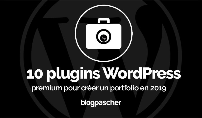 Plugin Wordpress Premium Créer Portfolio 2019